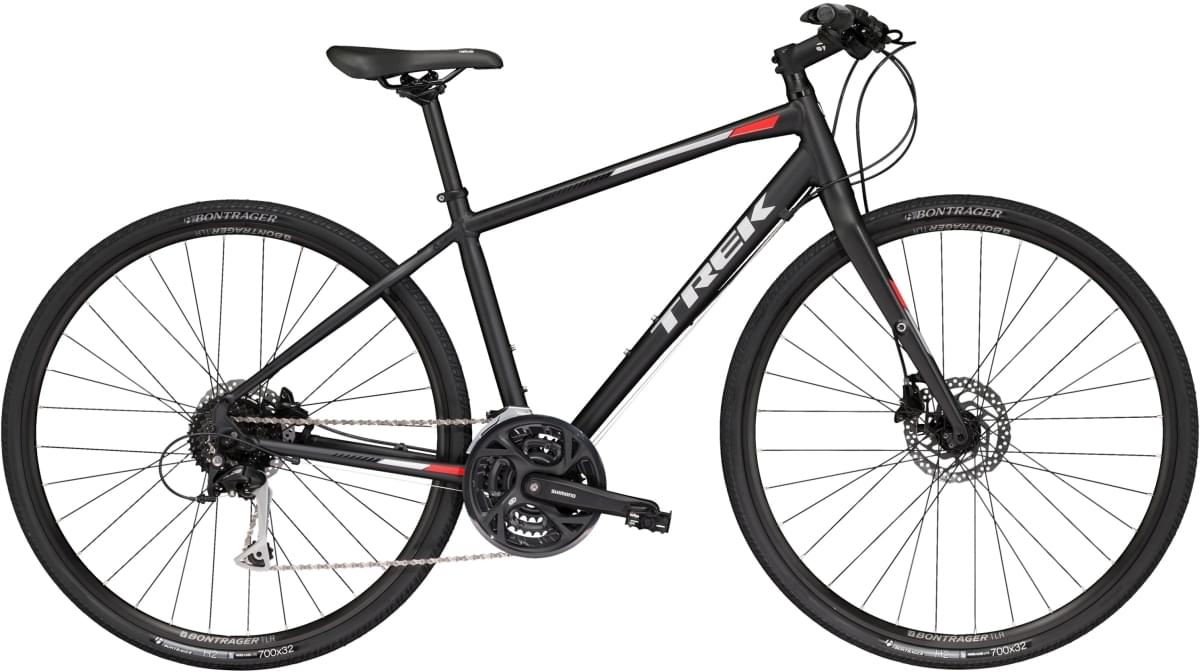 Trek FX 3 WSD Disc-Matte Trek Black 17.5