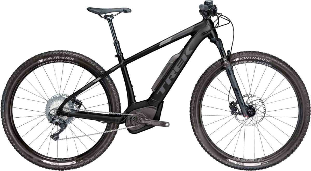Trek Powerfly 7+ Matte Trek Black/Solid Charcoal 17.5
