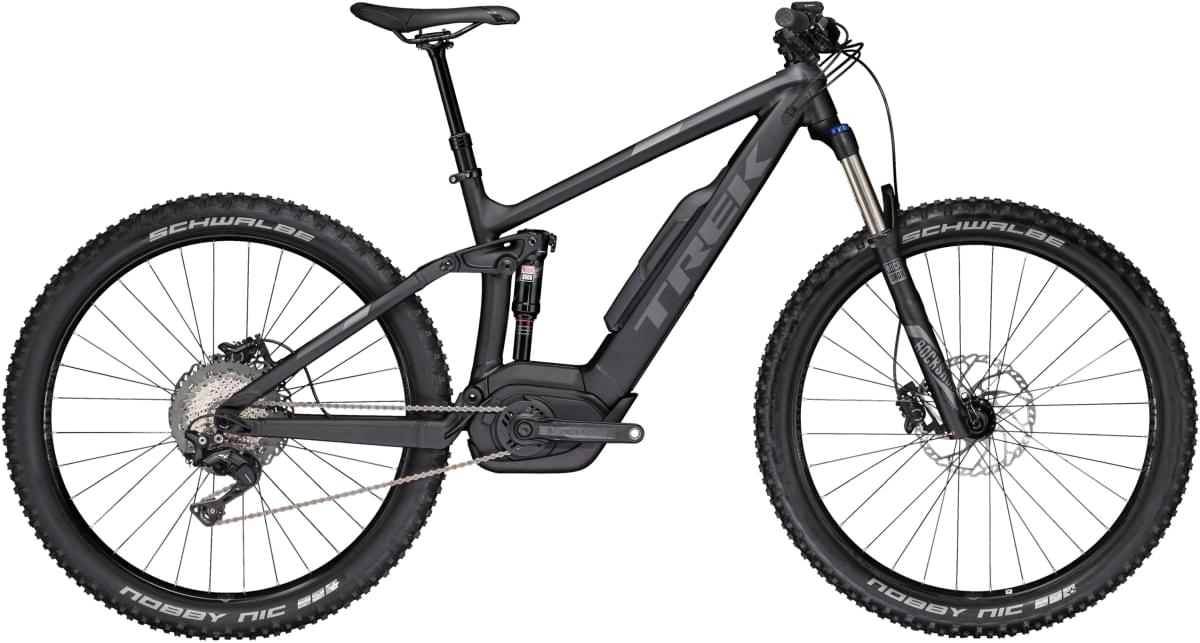 Trek Powerfly FS 7+ Matte Trek Black/Solid Charcoal 19.5