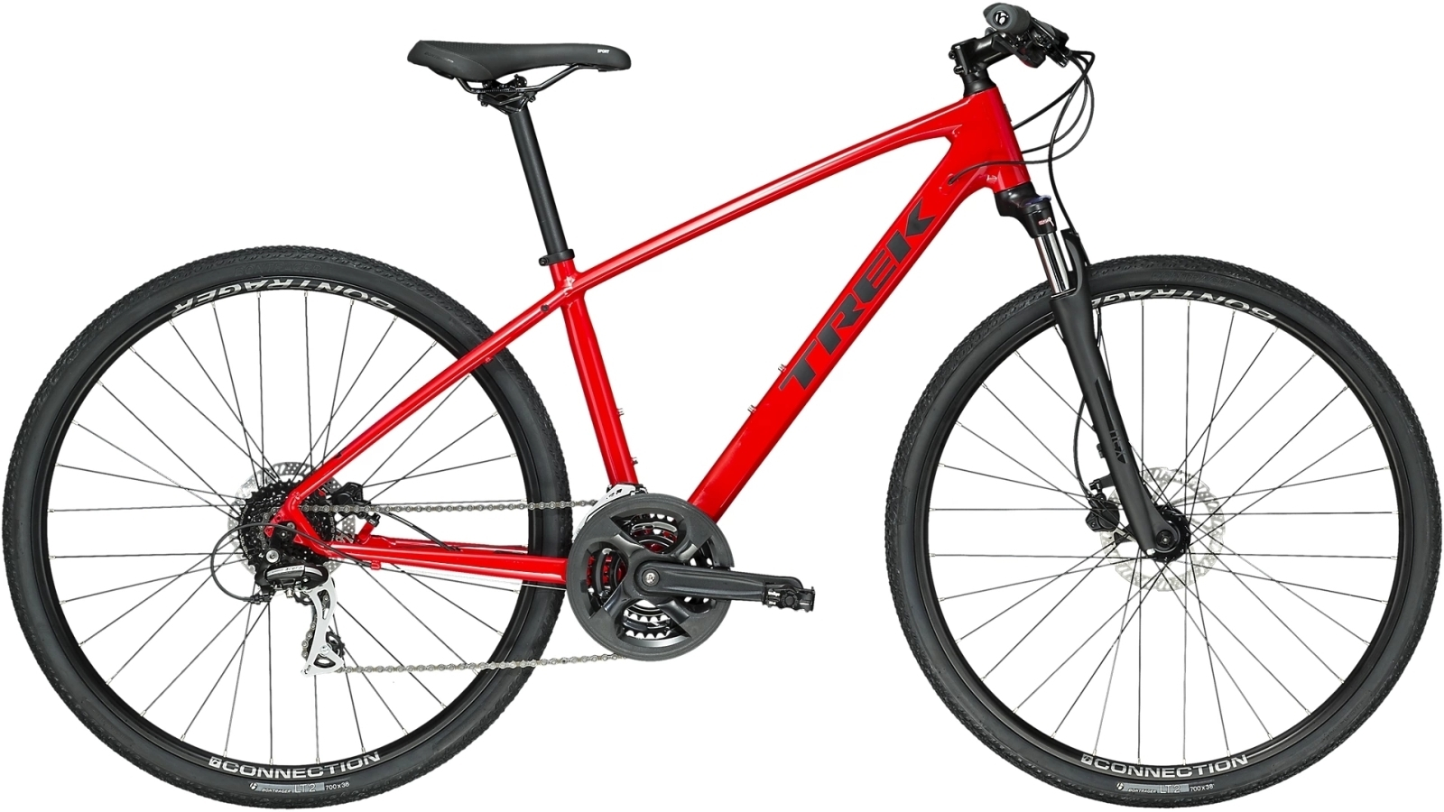 Trek Dual Sport 2 - viper red XL