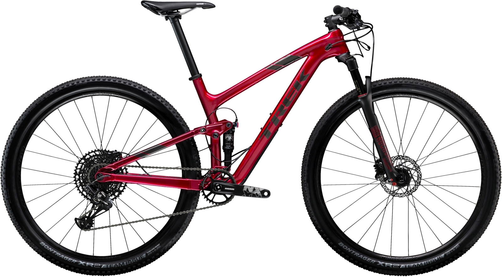 Trek Top Fuel 9.7 - Rage Red 19.5
