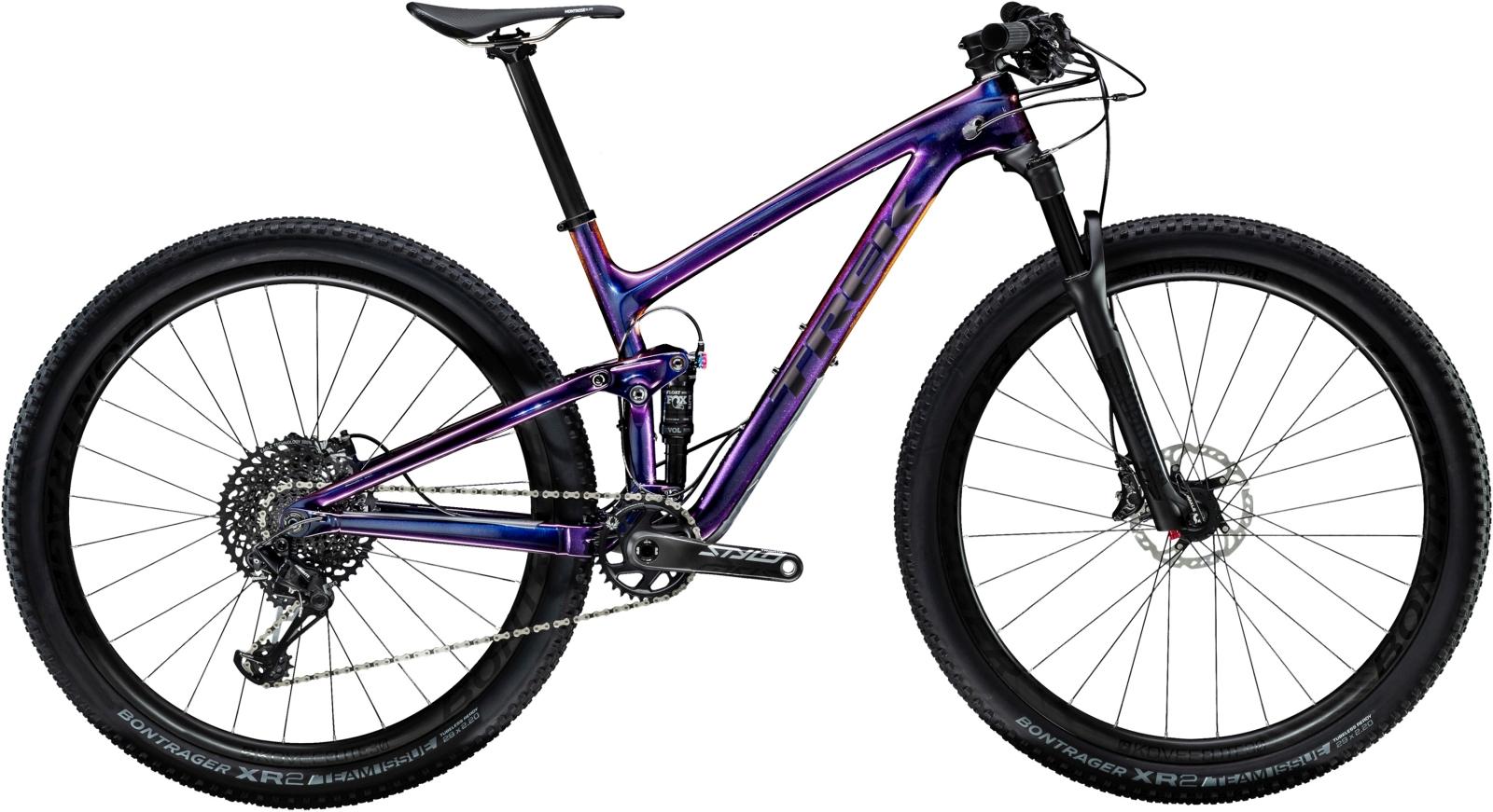 Trek Top Fuel 9.8 SL - Gloss Purple Phaze/Matte Trek Black 19.5