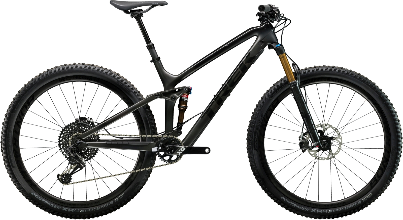 Trek Fuel EX 9.9 29 - Matte Carbon Smoke/Gloss Trek Black 21.5