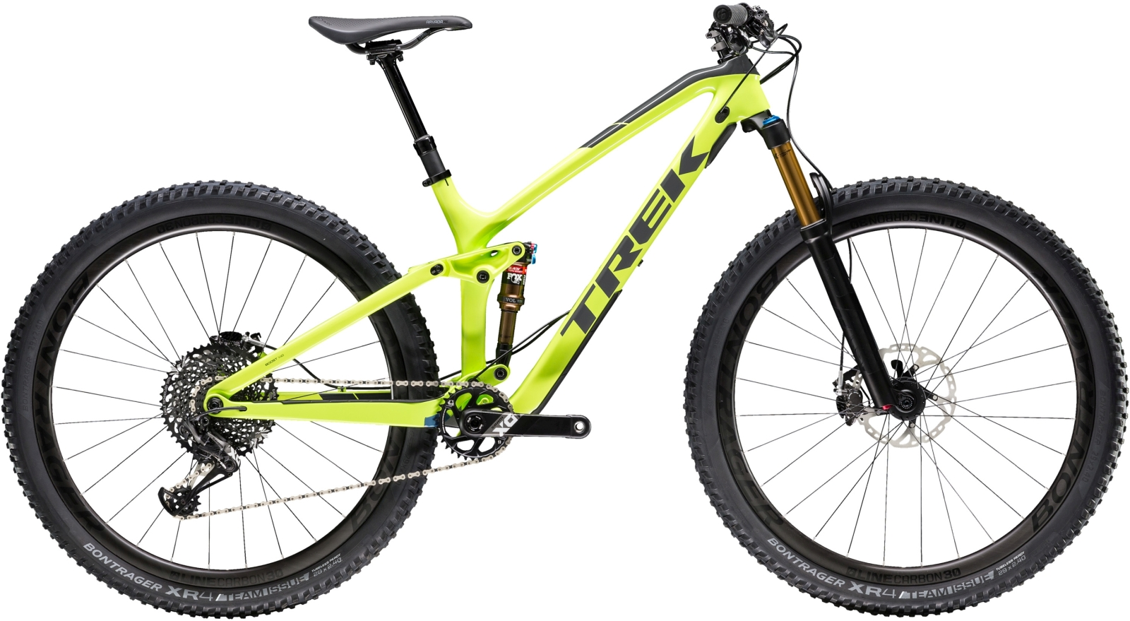 Trek Fuel EX 9.9 29 - Volt/Solid Charcoal 17.5