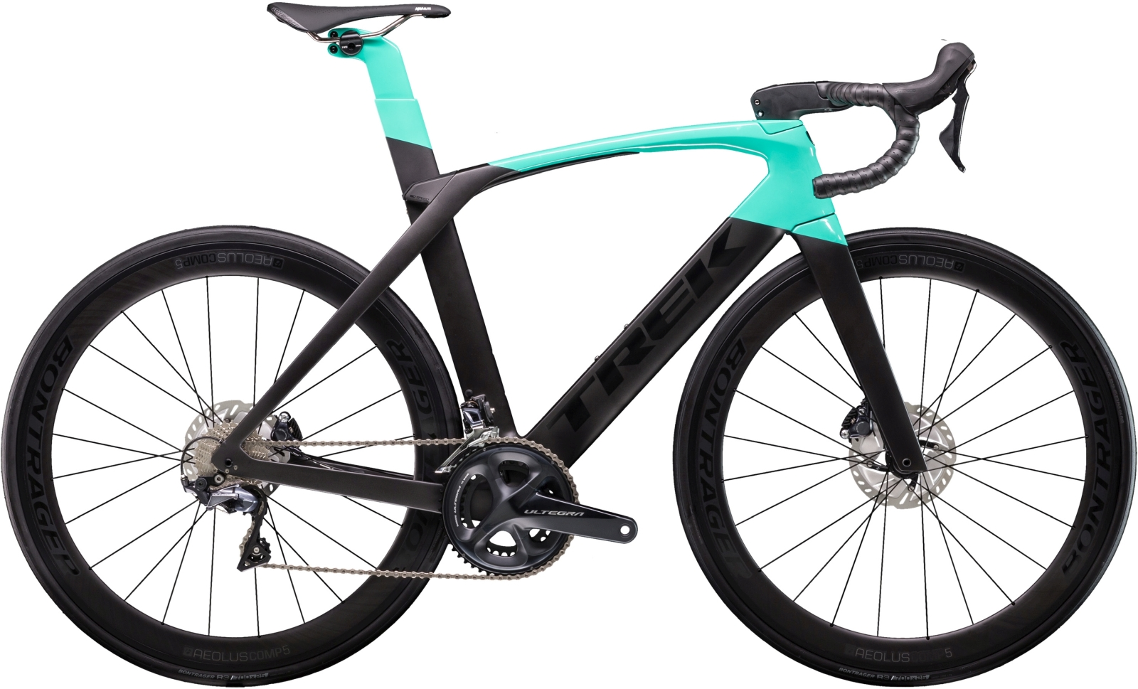 Trek Madone SLR 6 Disc Women's - Matte Black/Gloss Miami Green 54
