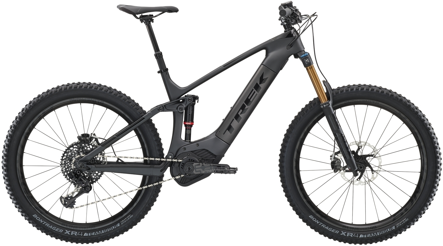 Trek Powerfly LT 9.9 Plus - Matte Onyx/Gloss Black 19.5