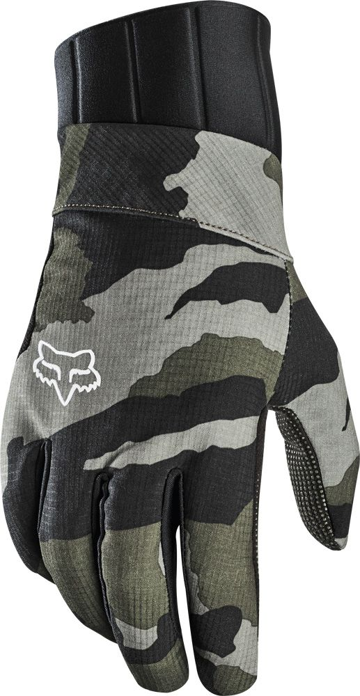 FOX Defend Pro Fire Glove - green camo 12