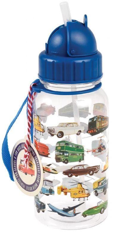 Dětská láhev na vodu Vintage Transport uni