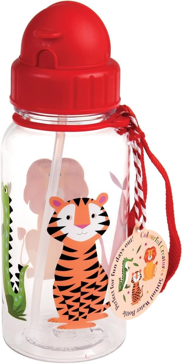 Dětská lahev na vodu - veselá zvířátka uni