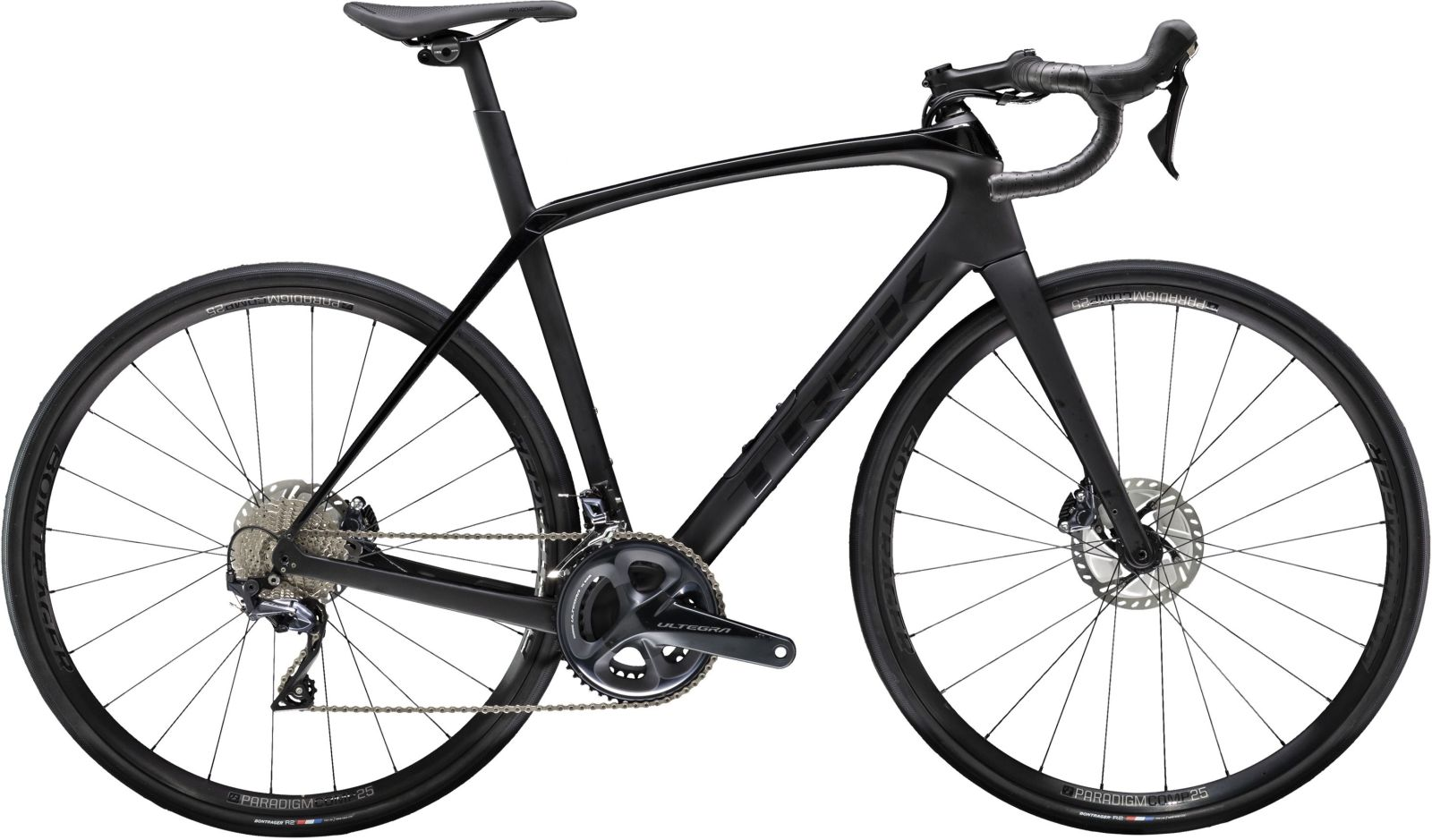 Trek Domane SL 6 - matte/gloss trek black 47