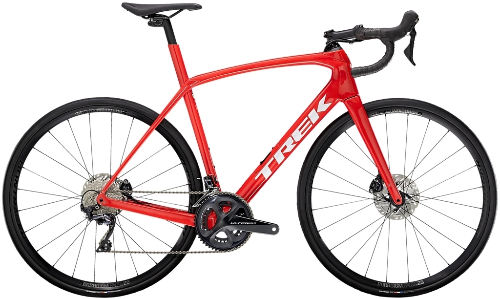 Trek Domane SL 6 - radioactive red/trek black 47