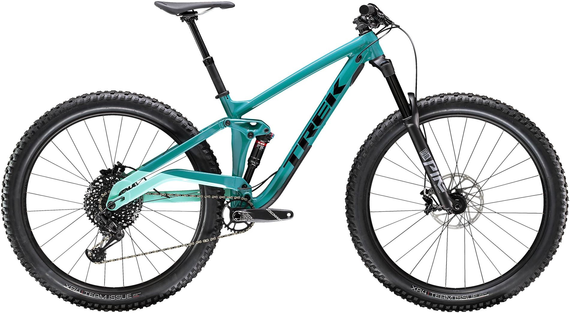 Trek Full Stache 8 - teal/miami green M