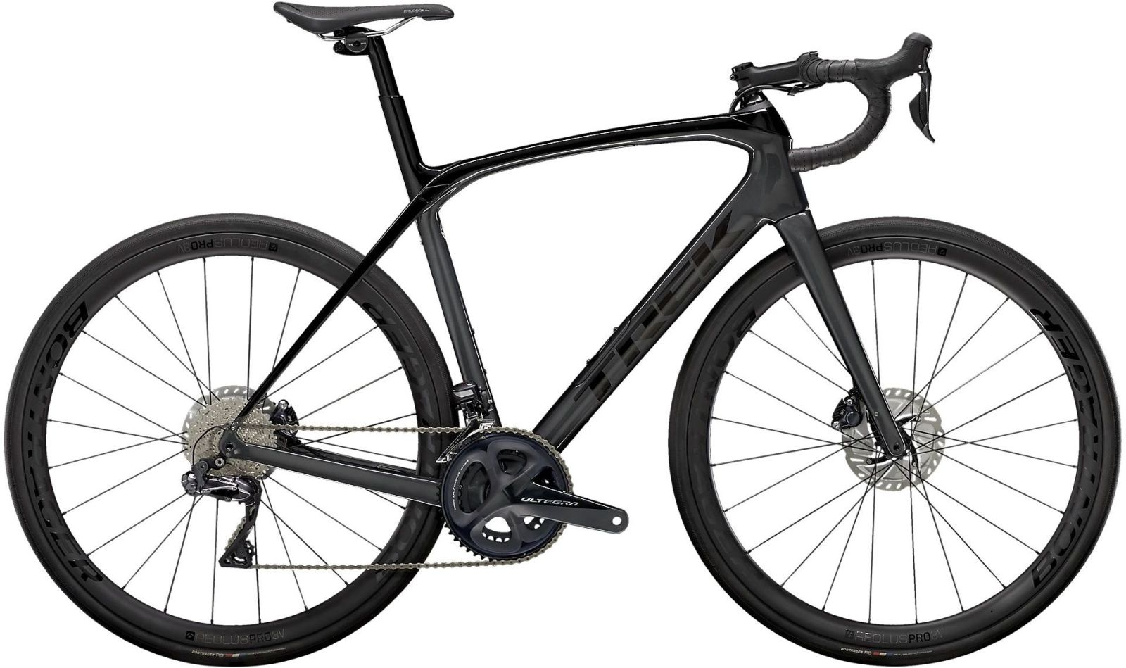Trek Domane SLR 7 - trek black/quicksilver-anthracite 54