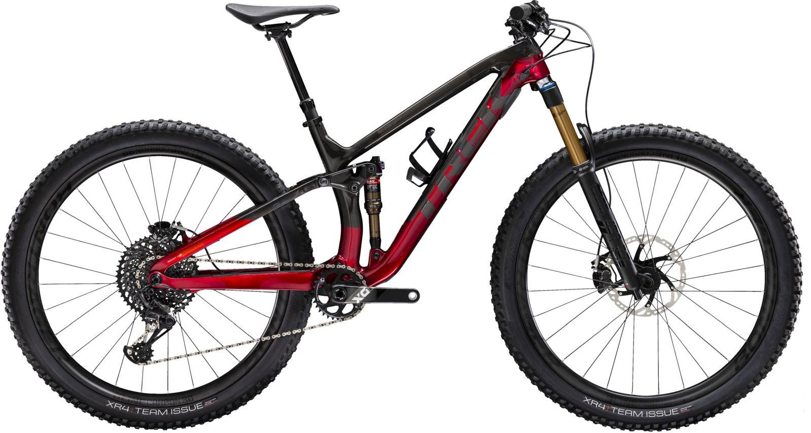 Trek Fuel EX 9.9 XO1 - raw carbon/rage red S