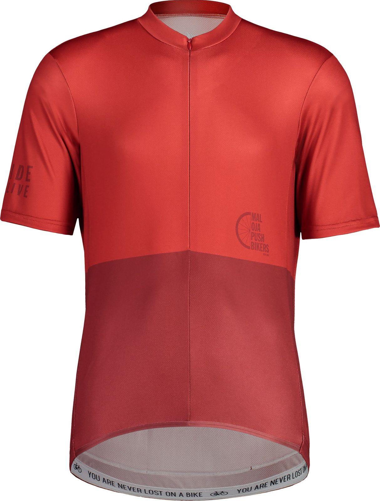 Maloja PushbikersM. Basic 1/2 - red monk L
