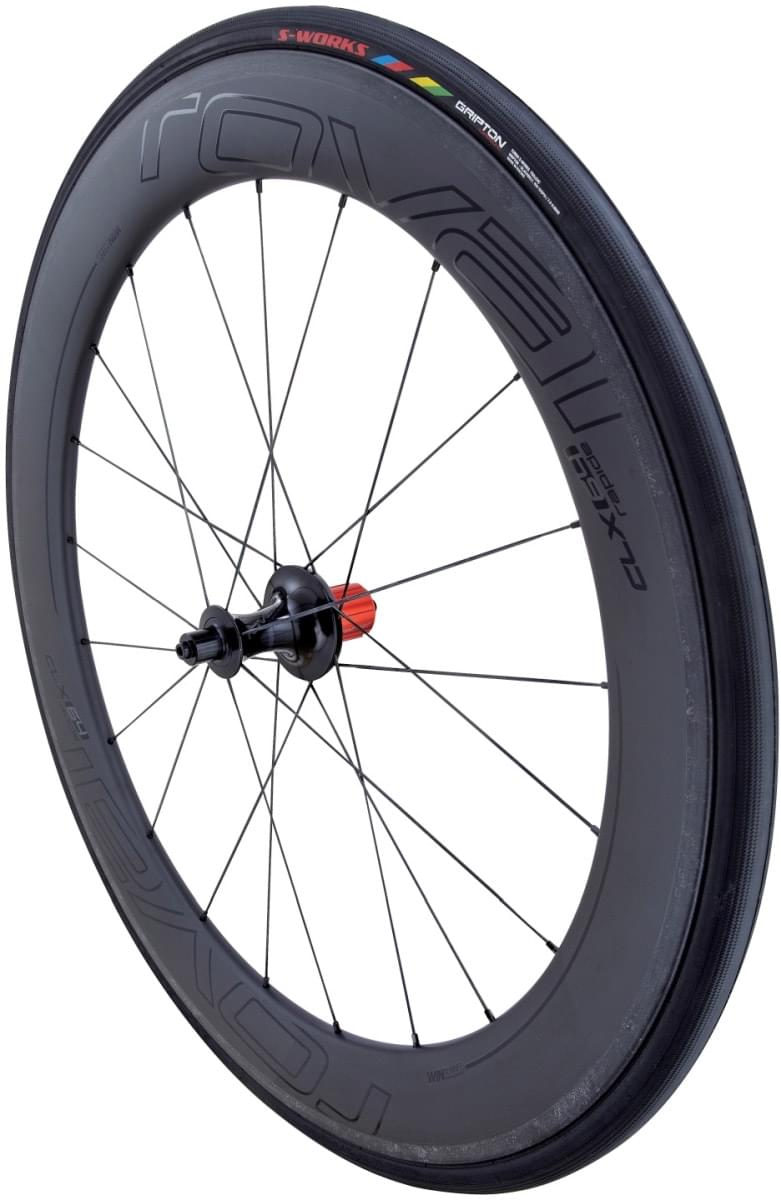 Specialized Roval CLX 64 Rear - satin carbon/gloss black uni
