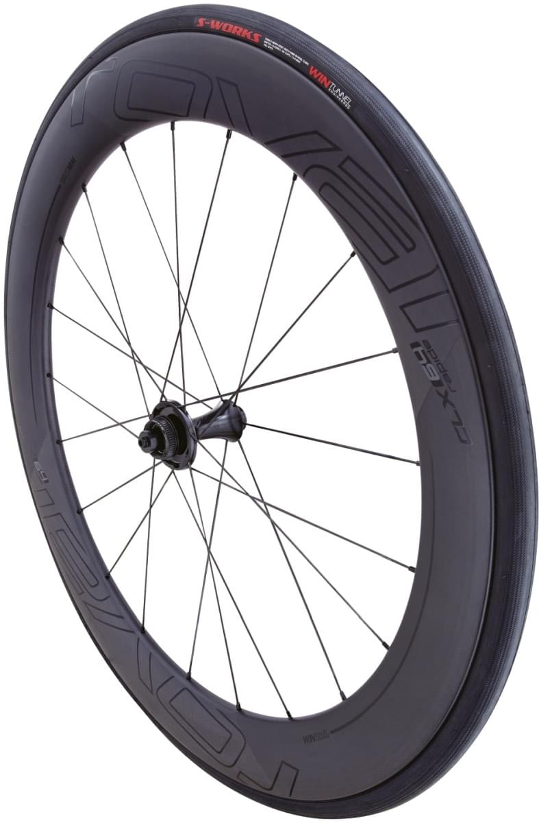 Specialized Roval CLX 64 Disc Front - satin carbon/gloss black uni