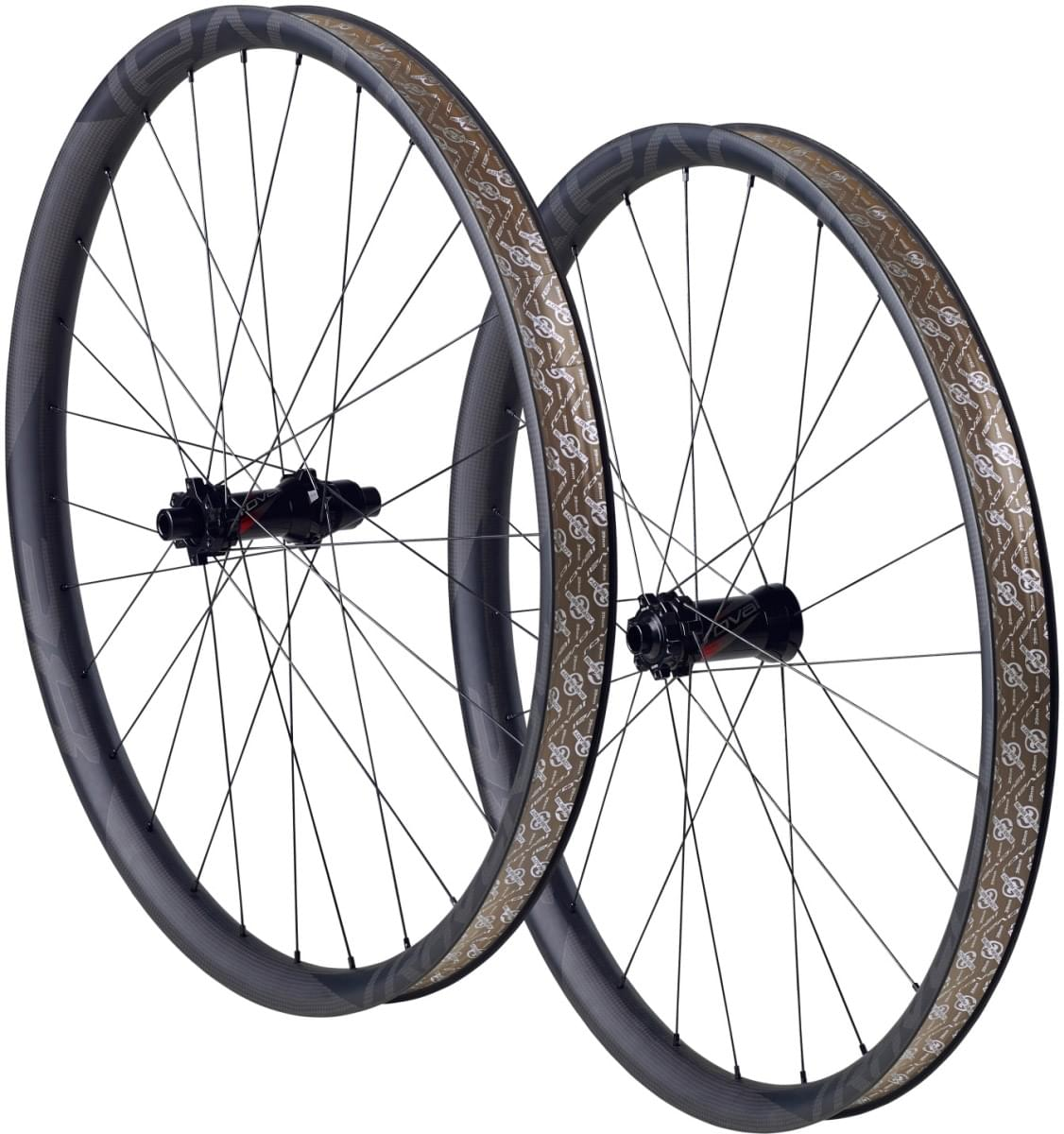 Specialized Roval Traverse SL 650B 148 Wheelset - carbon/black decal uni