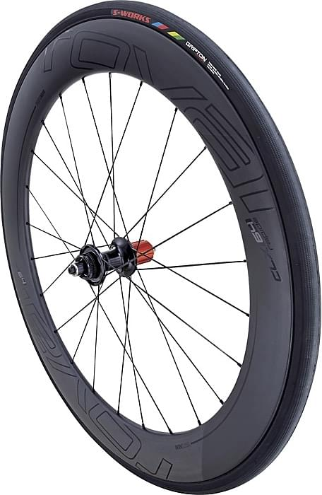 Specialized Rapide CLX 64 Disc Rear - satin carbon/gloss black uni