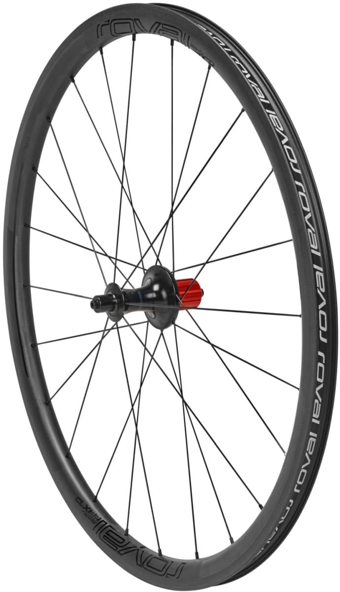 Specialized Roval CLX 32 Rear - satin carbon/gloss black uni