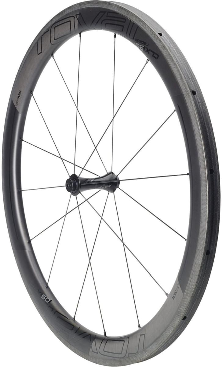 Specialized Roval CLX 50 Tubular Front - satin carbon/gloss black uni