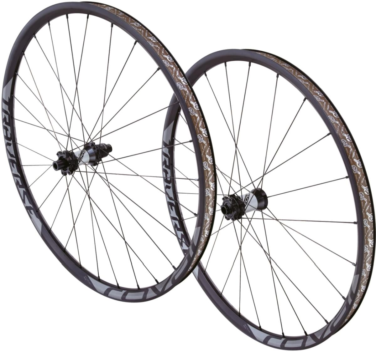 Specialized Roval Traverse 650B Wheelset - charcoal decal uni