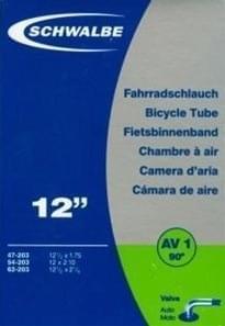 Schwalbe AV1 90° 12x1.75-2.25 auto ventilek uni