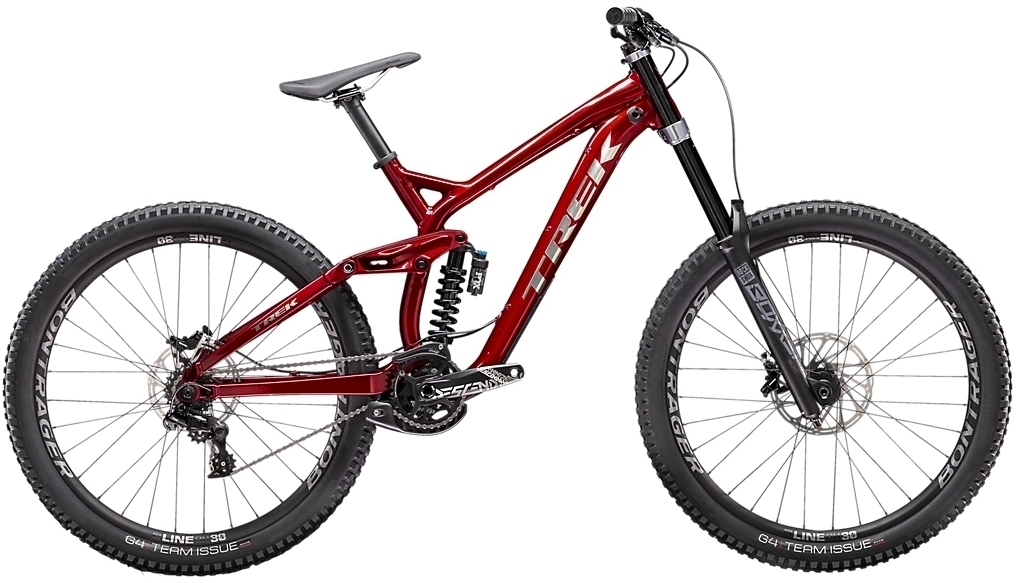Trek Session 8 27.5 - rage red M