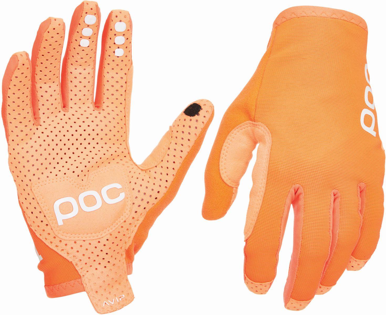 POC AVIP Glove Long - zink orange S