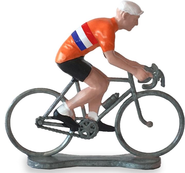 Bernard & Eddy Netherland sit cyclist uni