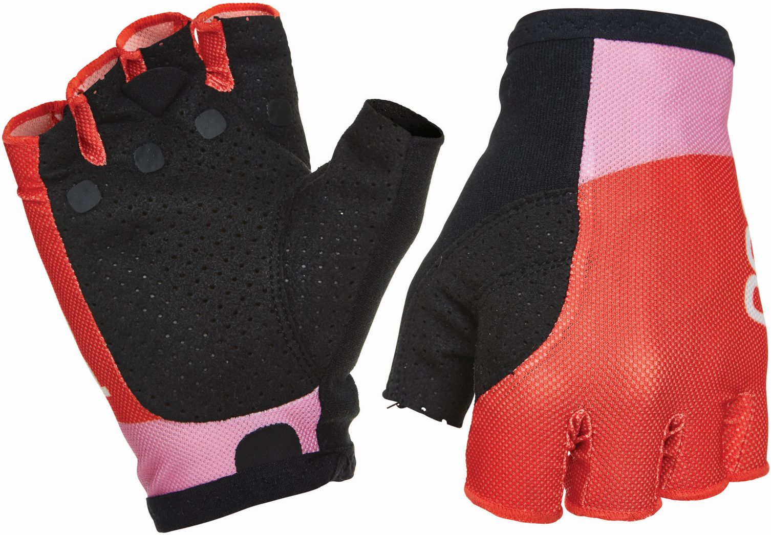 Cyklistické rukavice POC ES Road Mesh Short Glove - altair pink prismane red 4162ed66c9
