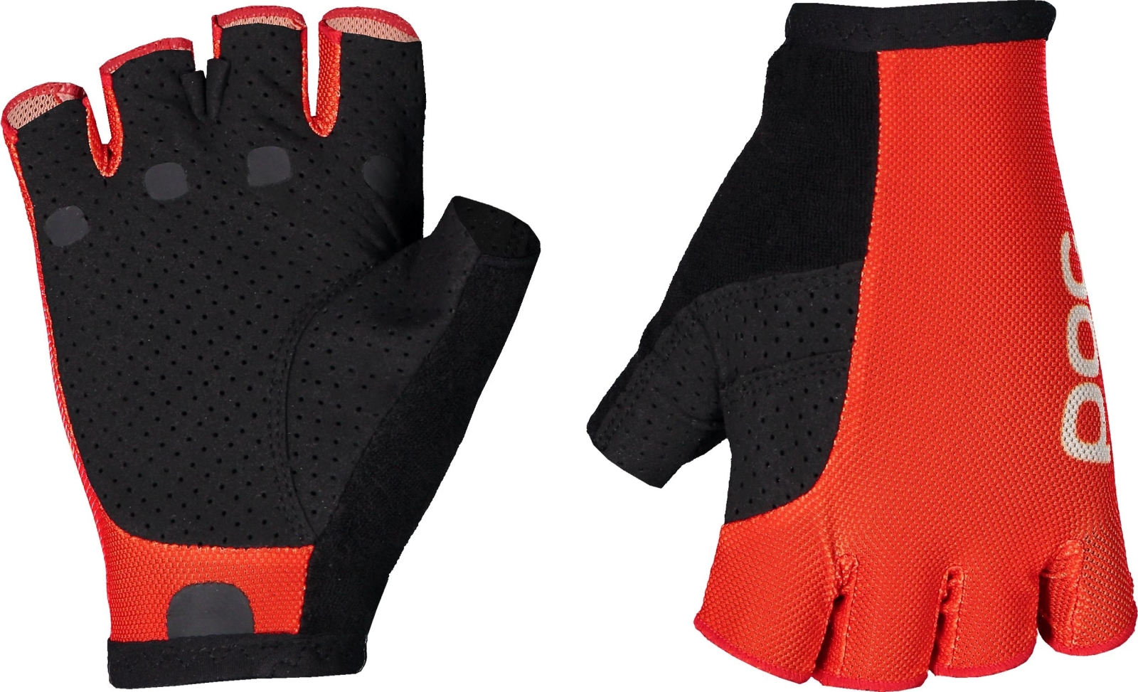 POC Essential Road Mesh Short Glove - Prismane Red/Prismane Red L