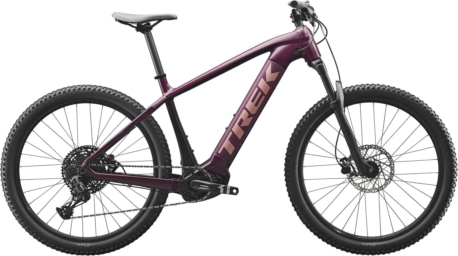 Trek Powerfly WSD 5 - matte mulberry/trek black S