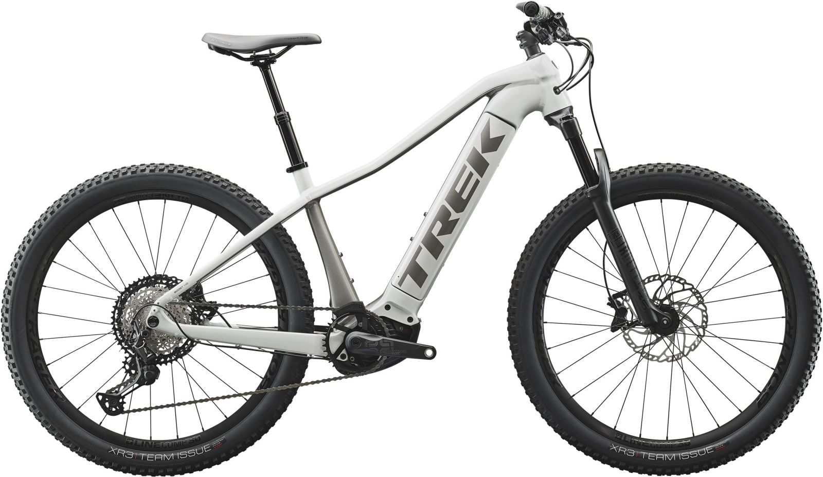 Trek Powerfly WSD 7 - crystal white/metallic gunmeta S