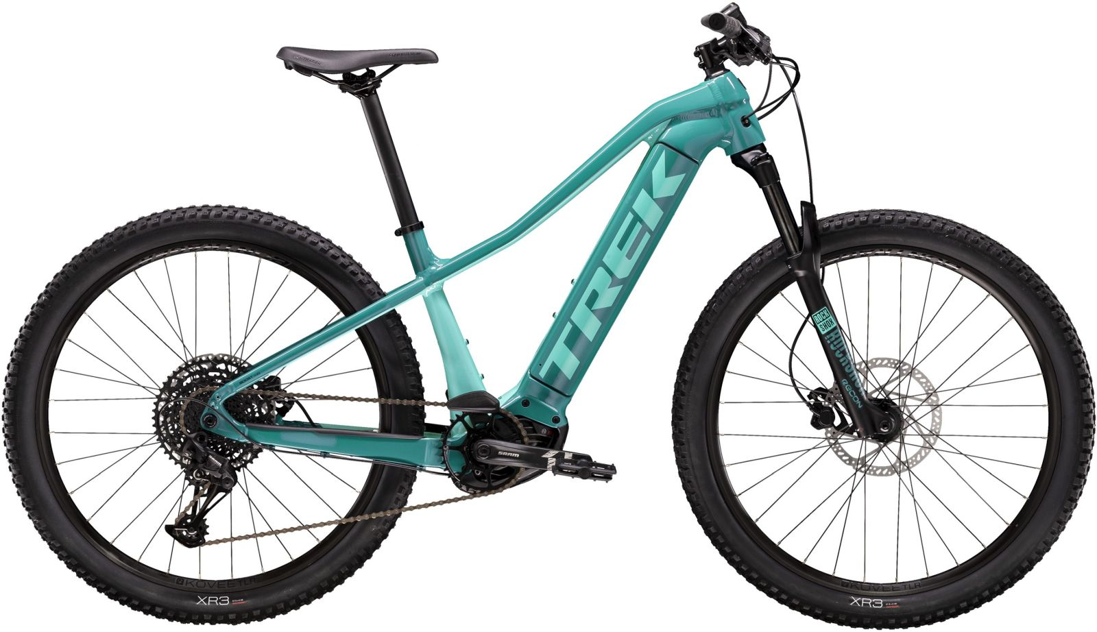 Trek Powerfly WSD 5 - teal/miami green XS