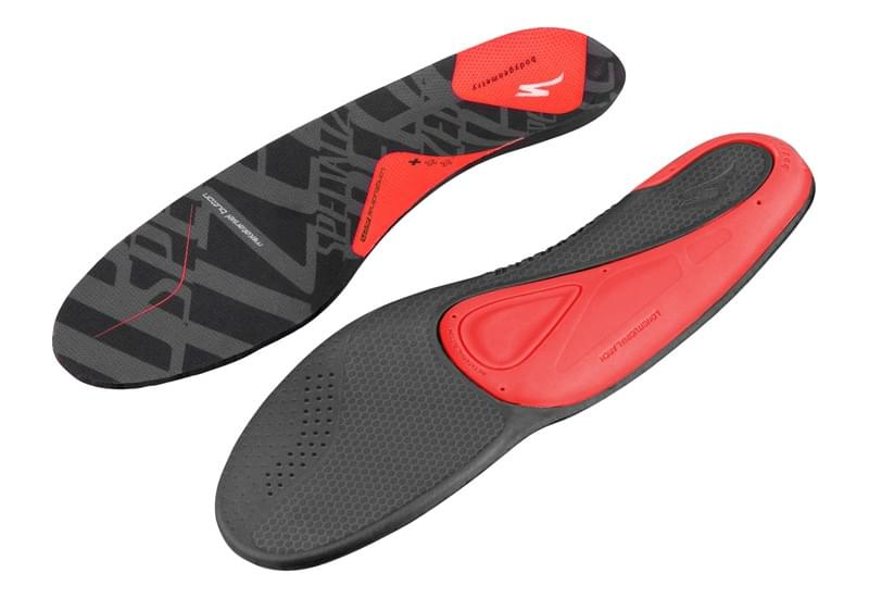 Specialized Body Geometry SL Footbed + - red 48-49