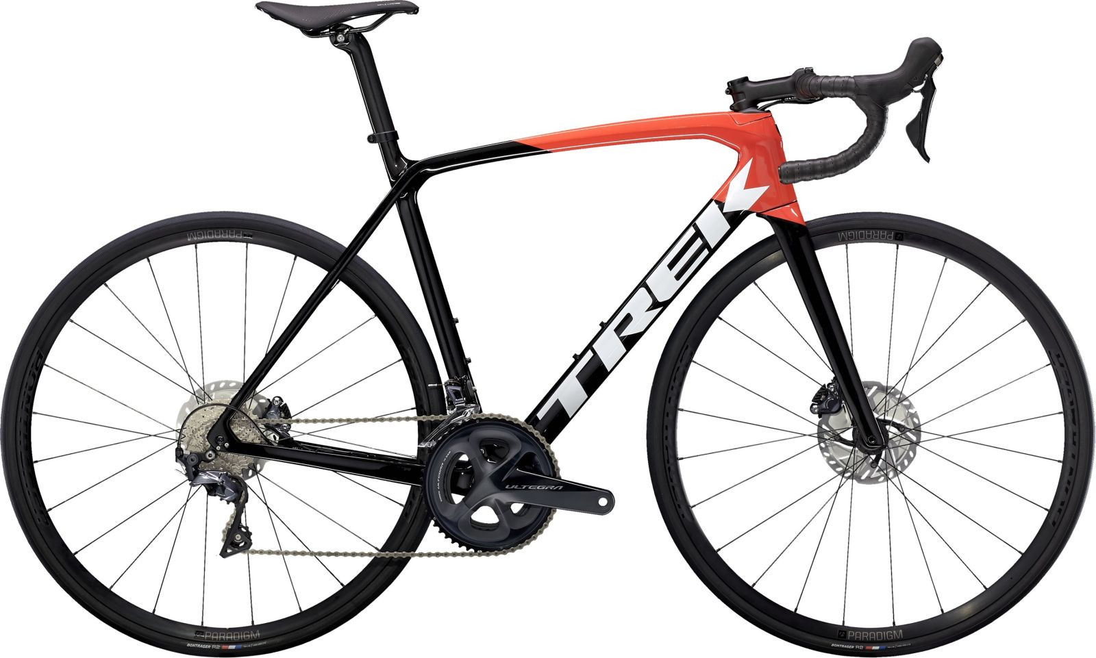 Trek Emonda SL 6 Disc - Trek Black/Radioactive Red 52