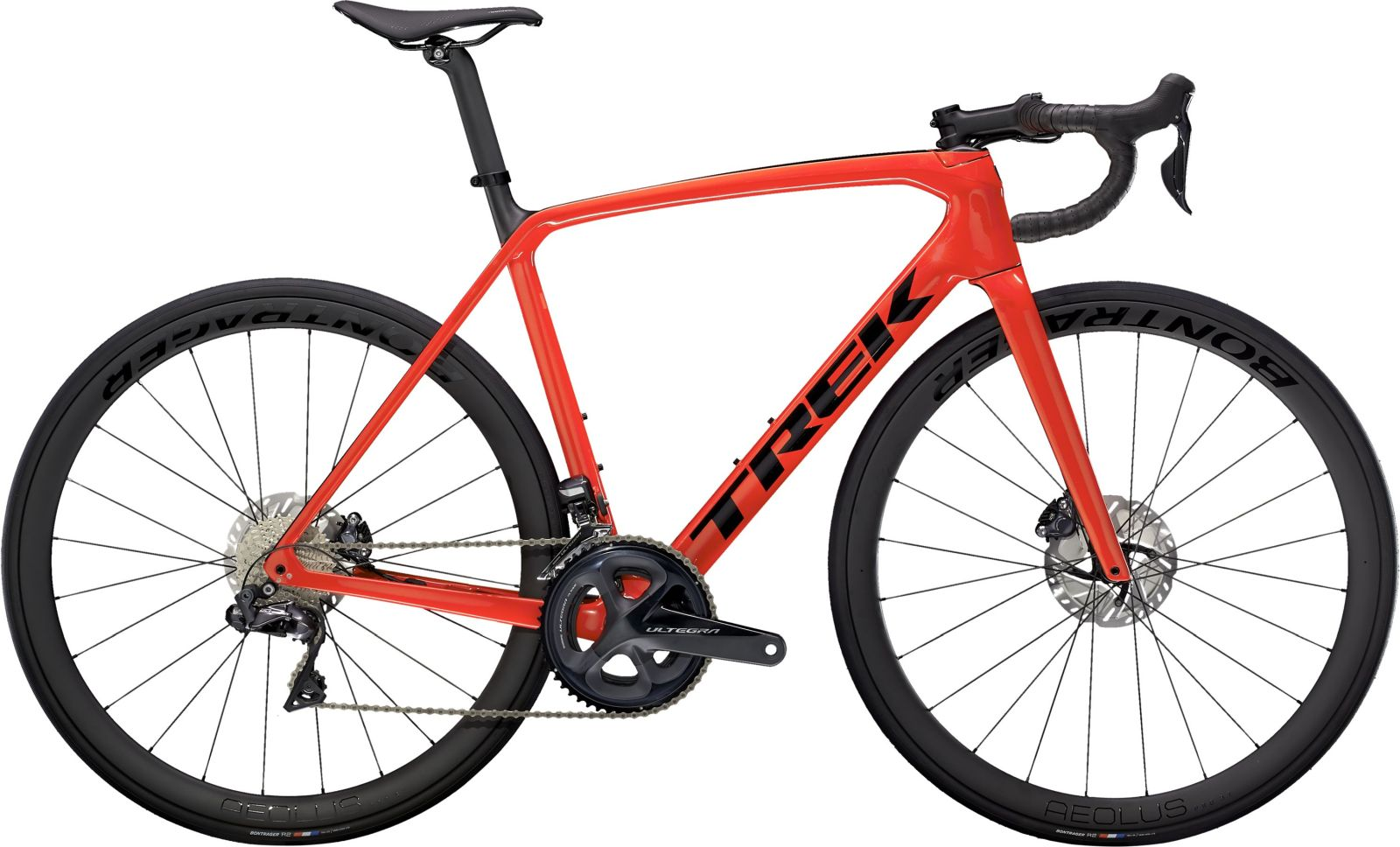 Trek Emonda SL 7 Disc - Gloss Radioactive Red/Matte Carbon 50