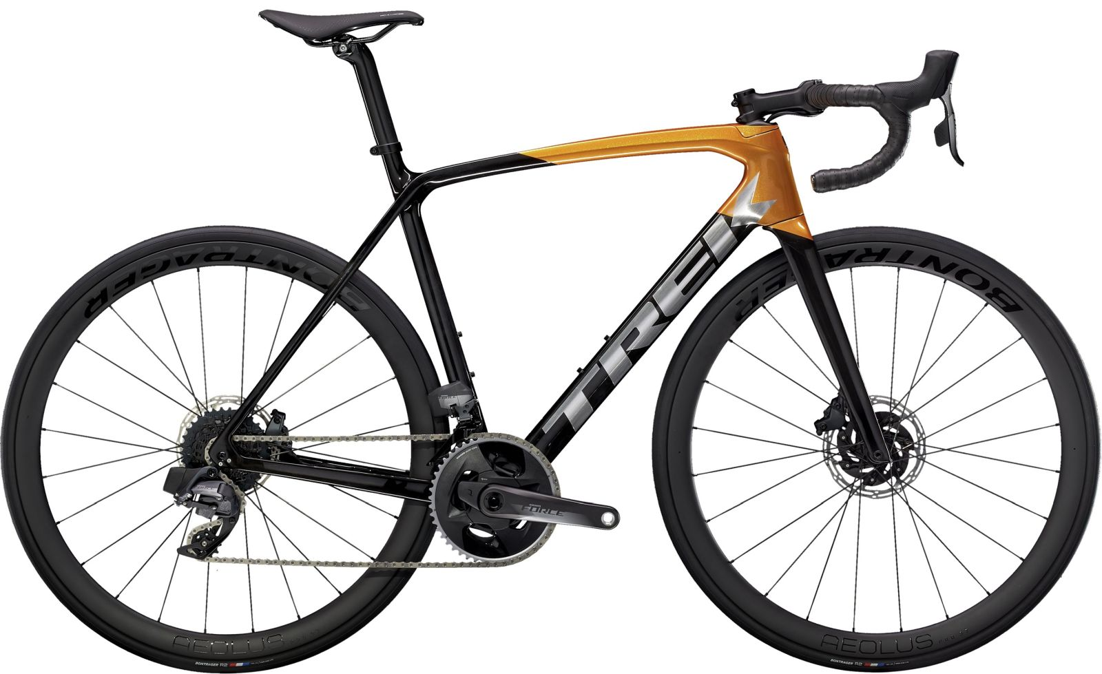 Trek Emonda SL 7 Disc eTap - Carbon Smoke/Factory Orange 50