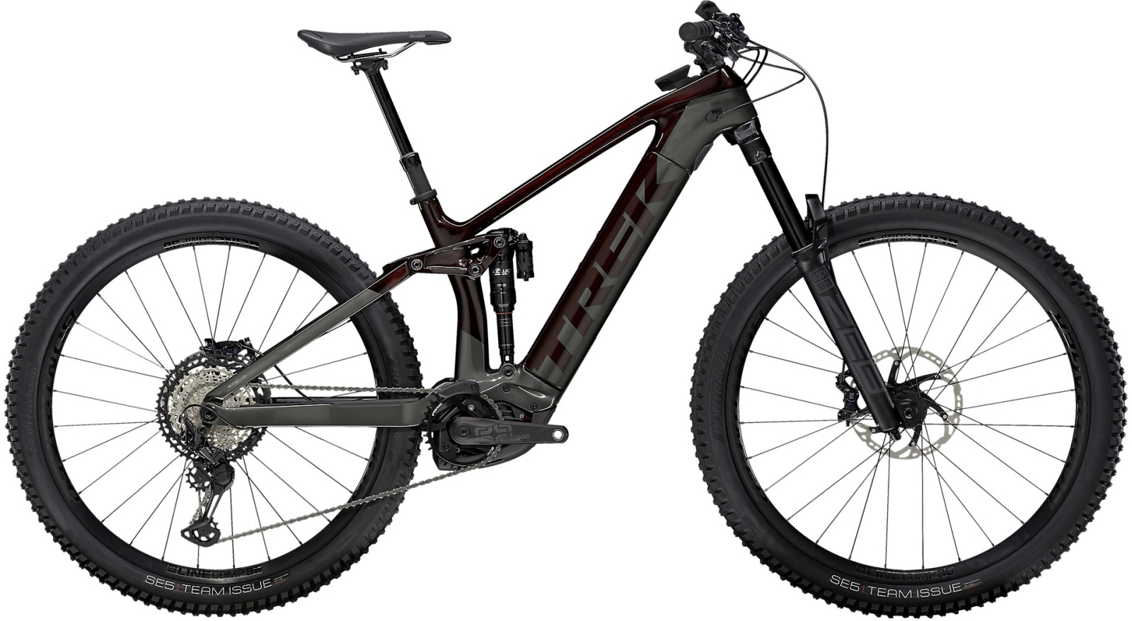 Trek Rail 9.8 XT - Carbon Red Smoke/Lithium Grey L