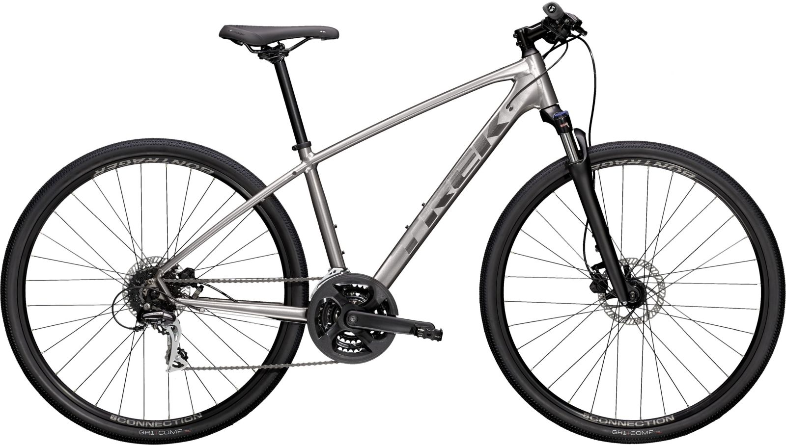 Trek Dual Sport 2 - Metallic Gunmetal XL