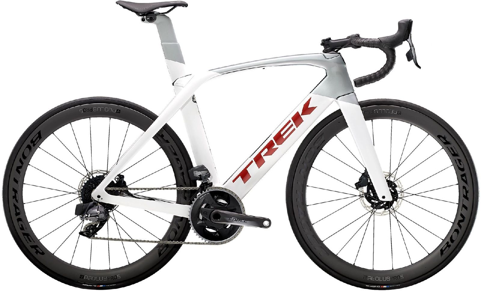 Trek Madone SL 7 eTap - crystal white/quicksilver 54