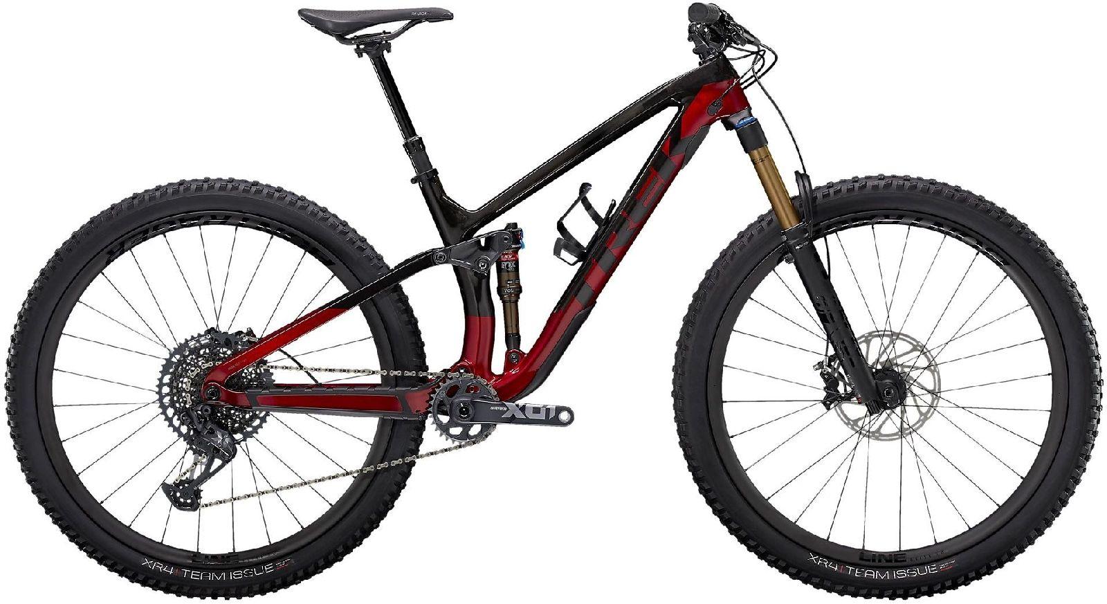 "Trek Fuel EX 9.9 XO1 - raw carbon/rage red XS (27.5"")"