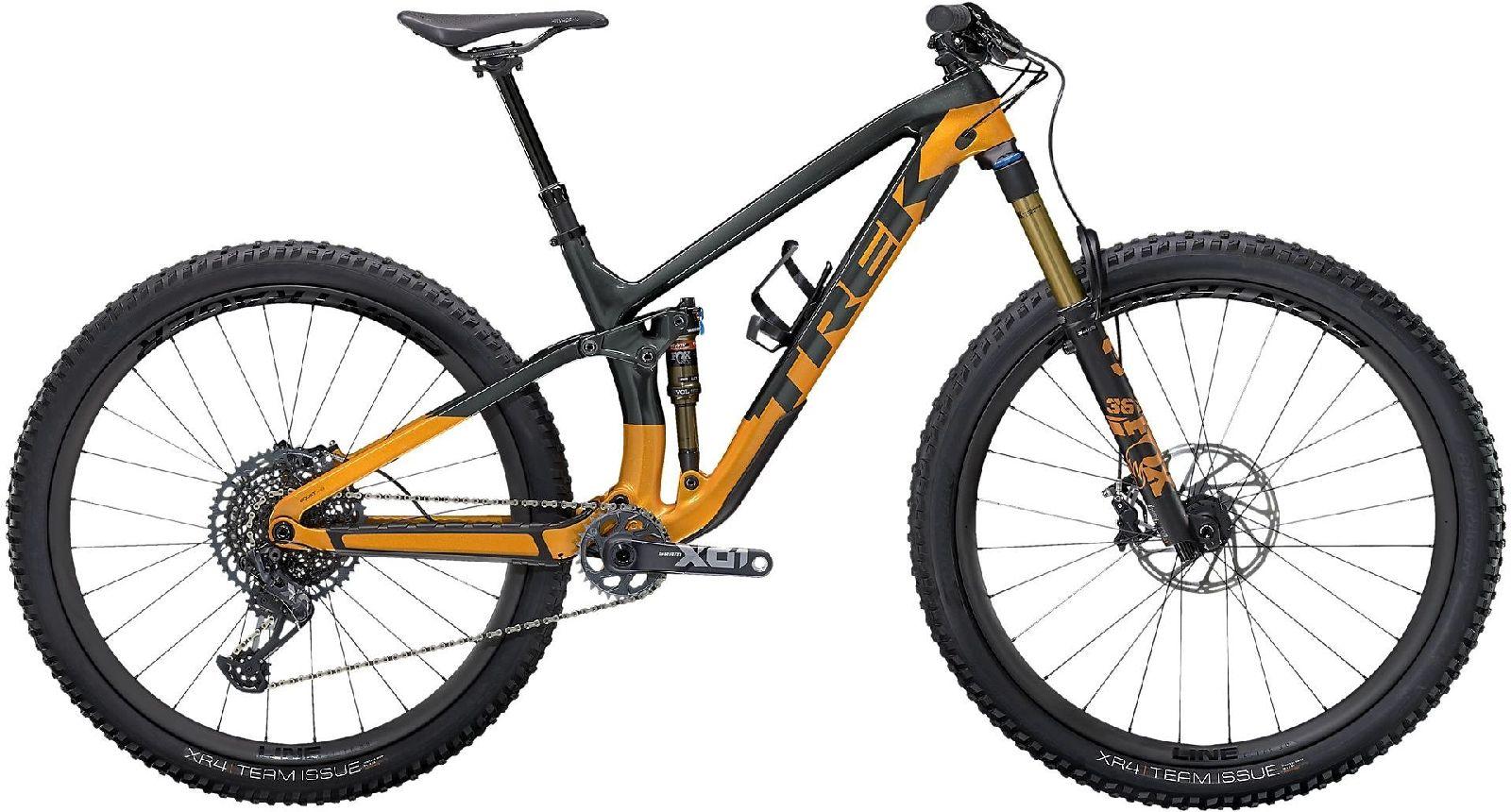 "Trek Fuel EX 9.9 XO1 - lithium grey/factory orange XS (27.5"")"