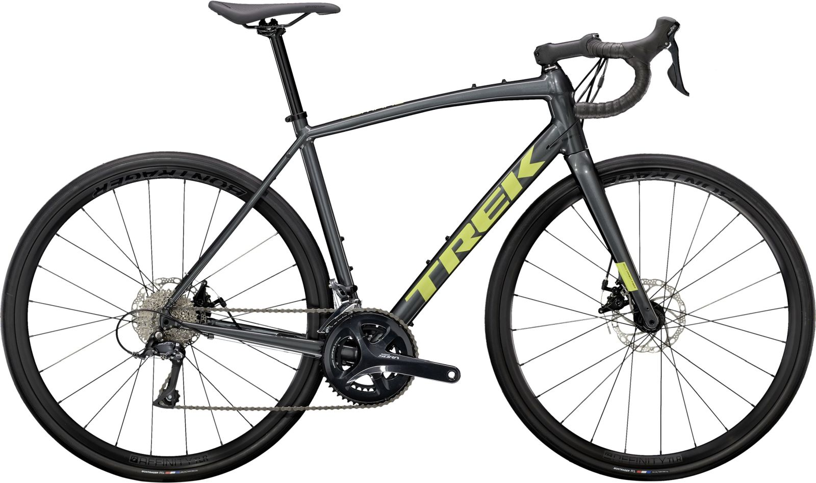 Trek Domane AL 3 Disc - Lithium Grey/Volt 54