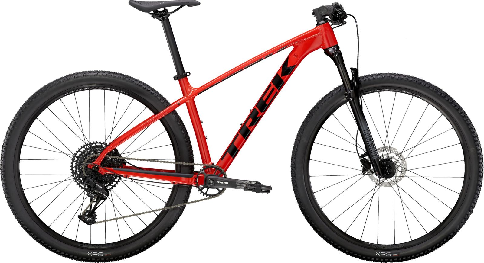 Trek X-Caliber 8 - Radioactive Red/Trek Black XS