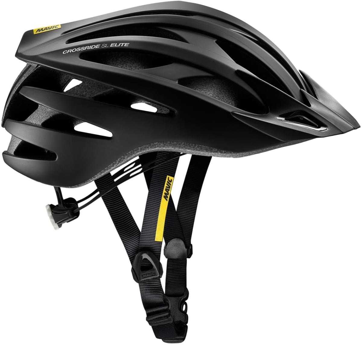 Mavic Crossride SL Elite Helmet - Black/White M-(54-59)