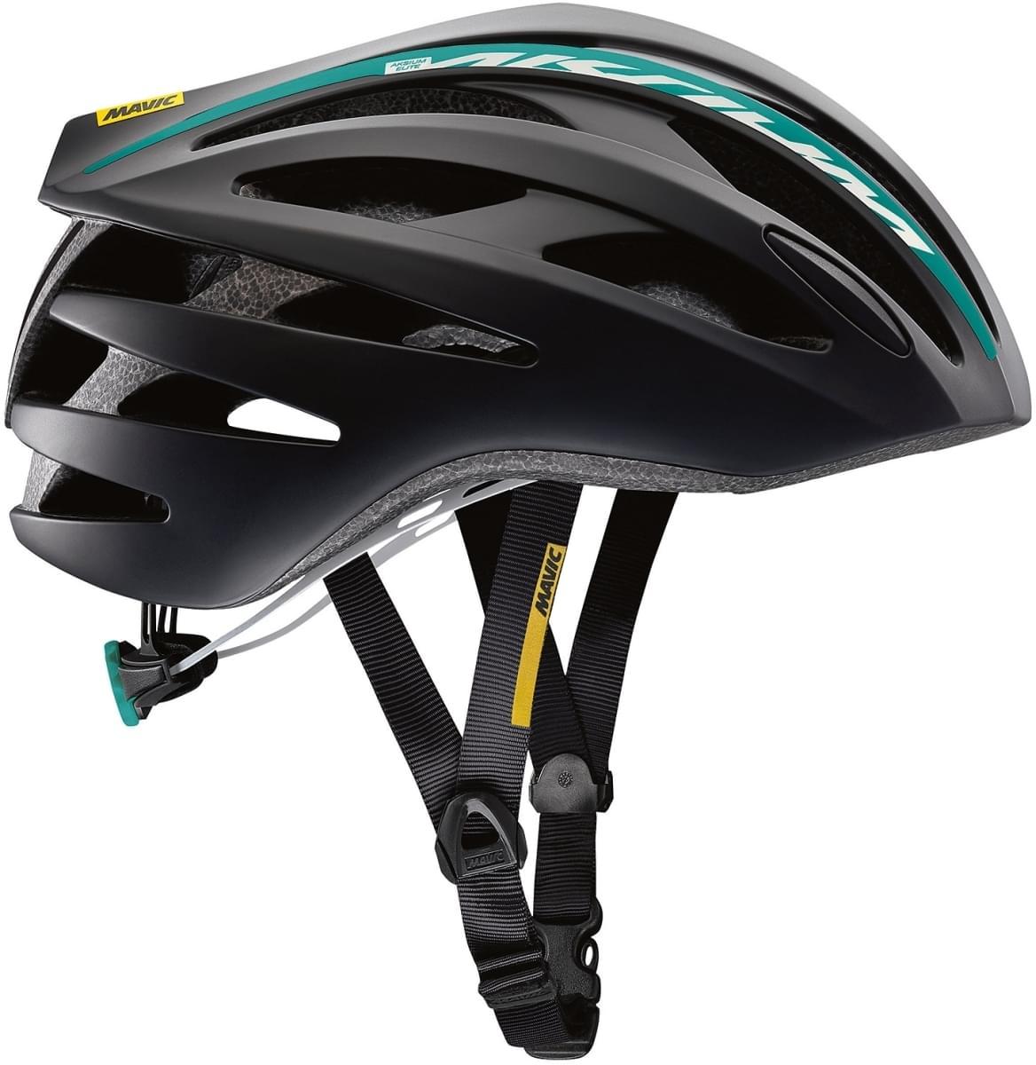 Mavic Aksium Elite Helmet W - black/moorea blue S
