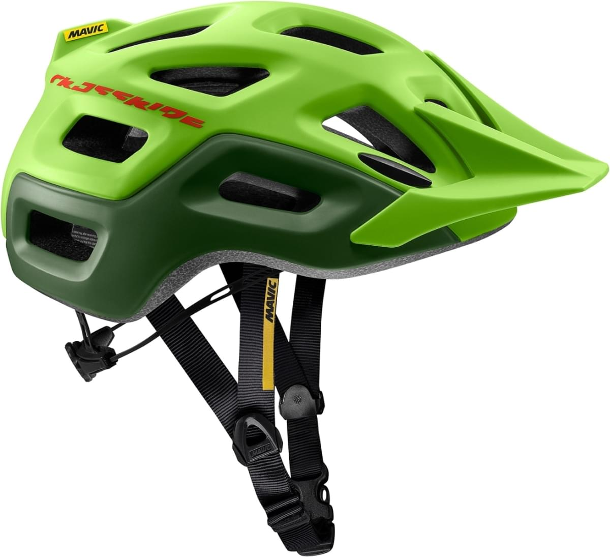 Mavic Crossride Helmet - lime green/chive M