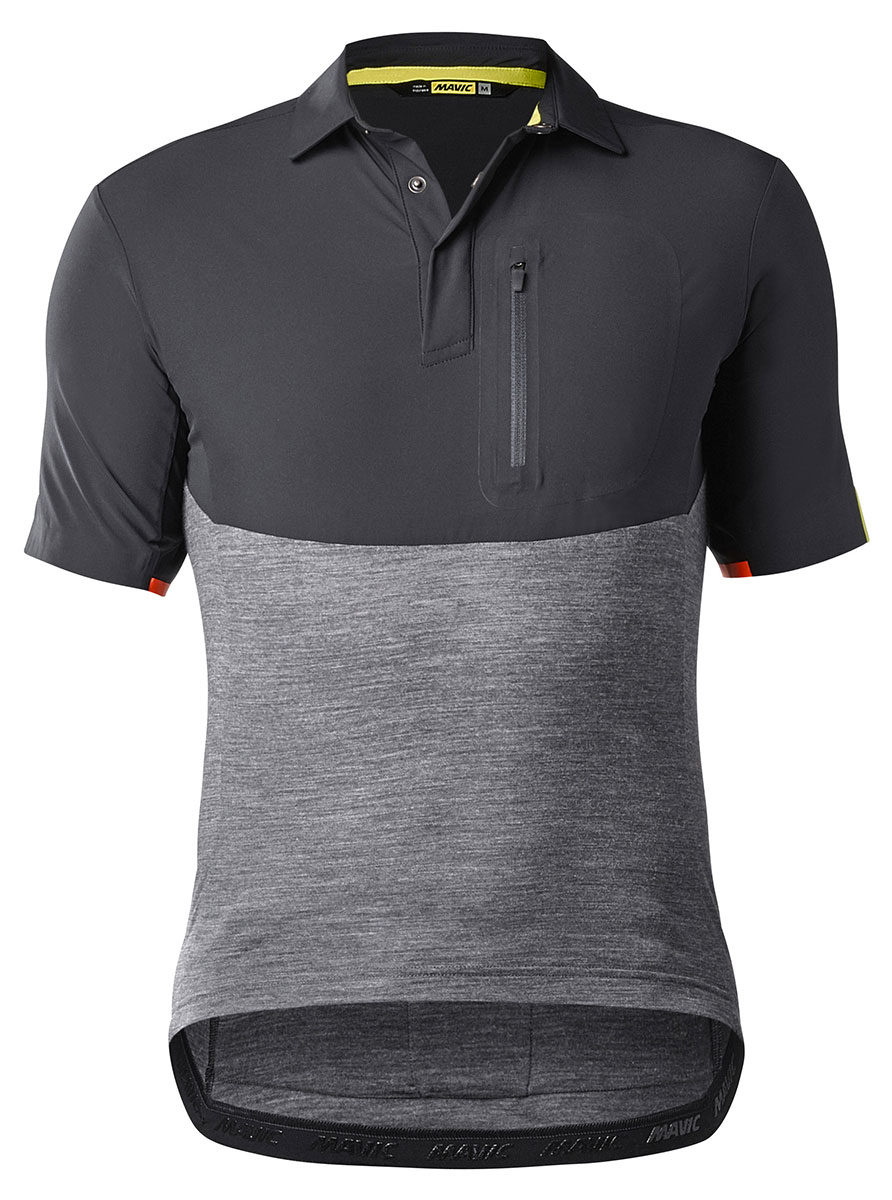 Mavic All Road Jersey - Black/Asphalt L